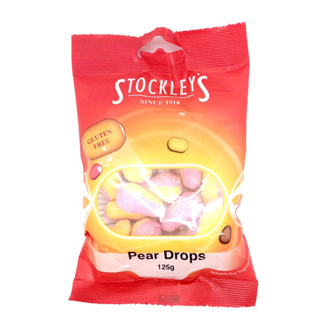 Stockleys Pear Drops 125g