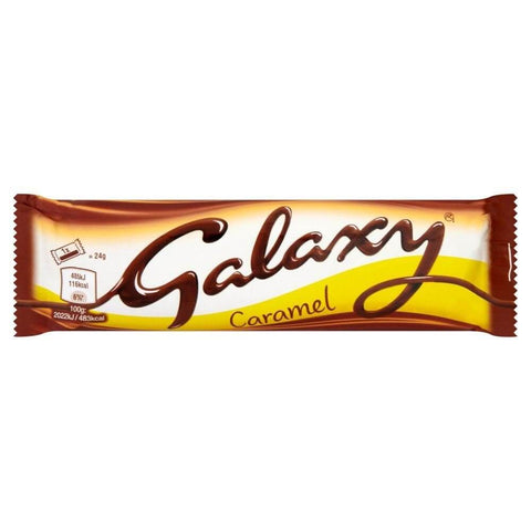 Mars Galaxy Caramel Twin Bar 48g