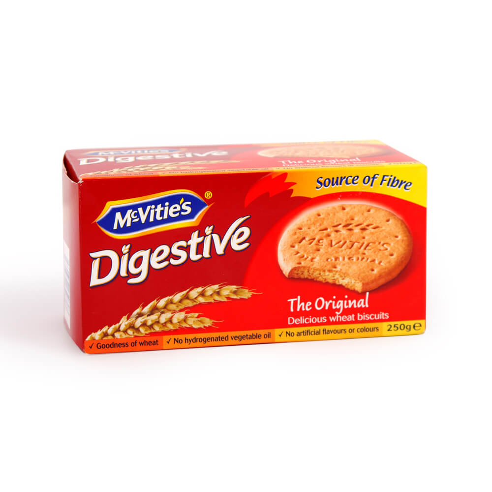 McVities Digestives - Boxed Original Biscuits 250g