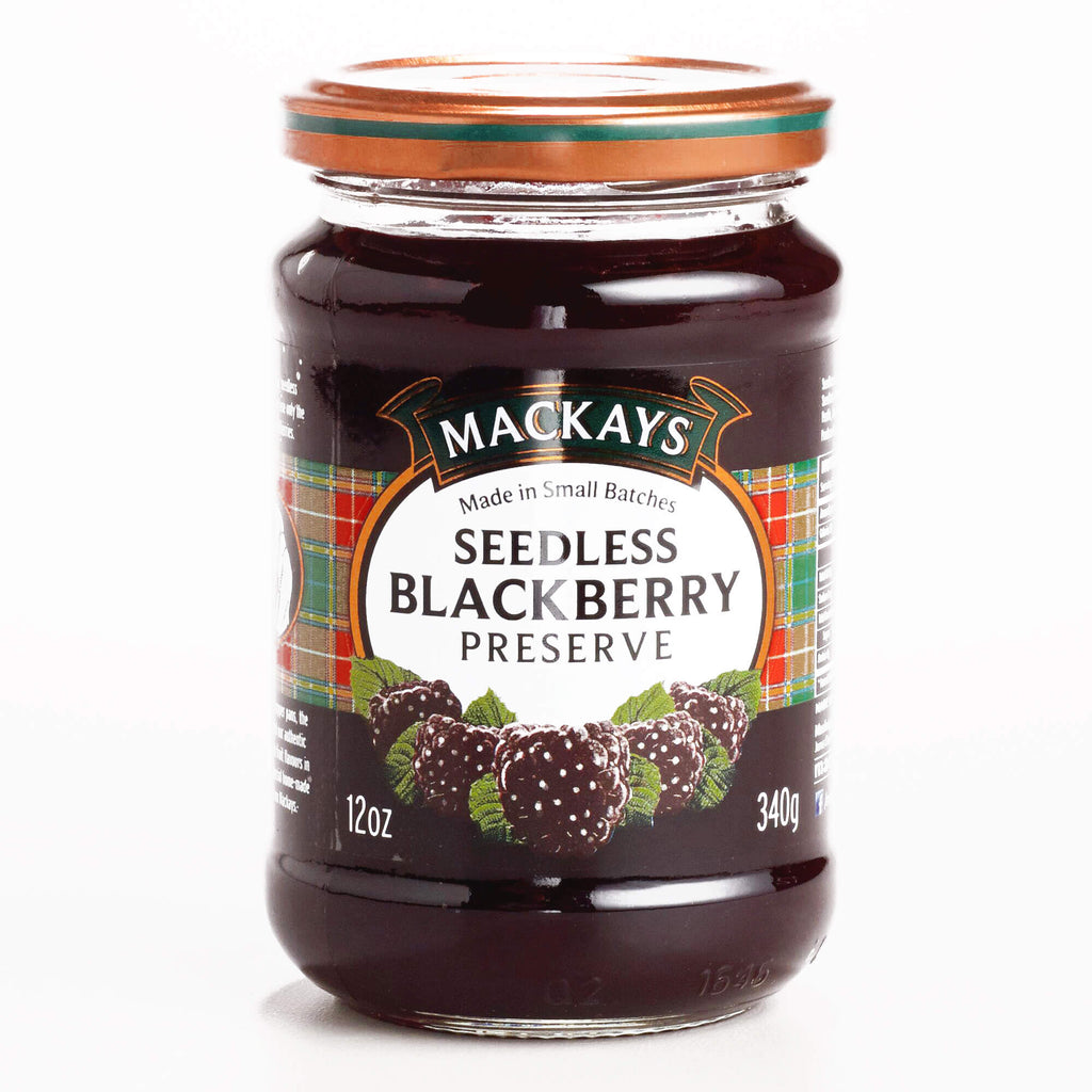 Mackays Preserve - Seedless Blackberry  340g