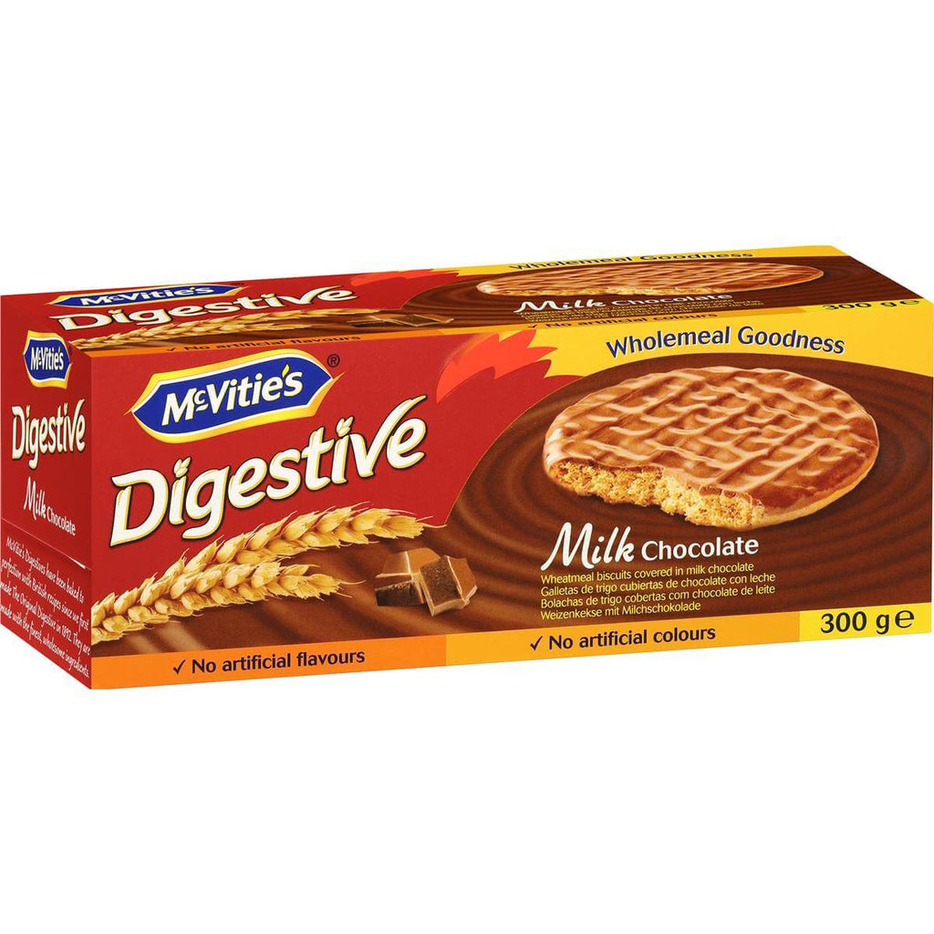 McVities Digestives Boxed Milk Chocolate Biscuits 300g