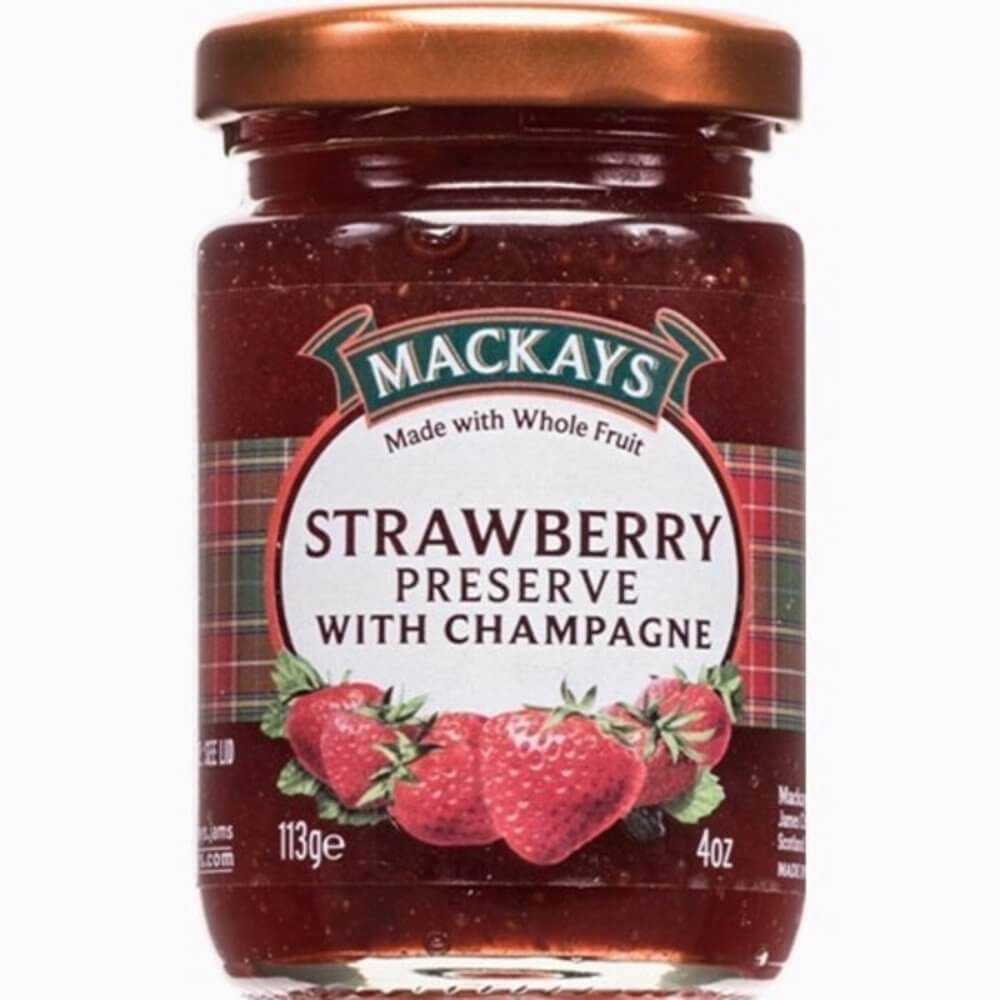 Mackays Preserve - Strawberry and Champagne 340g