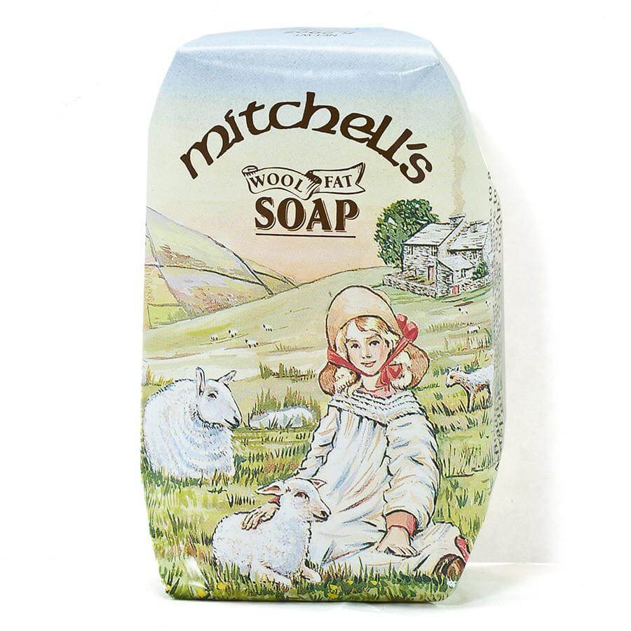 Mitchells Wool fat Toilet Soap 75g