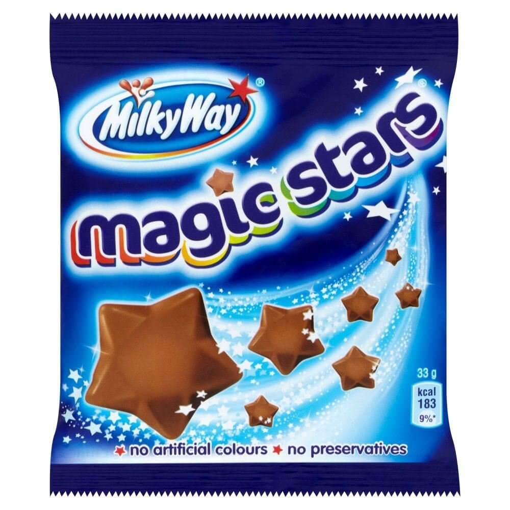 Mars Milkyway - Magic Stars Bag 33g