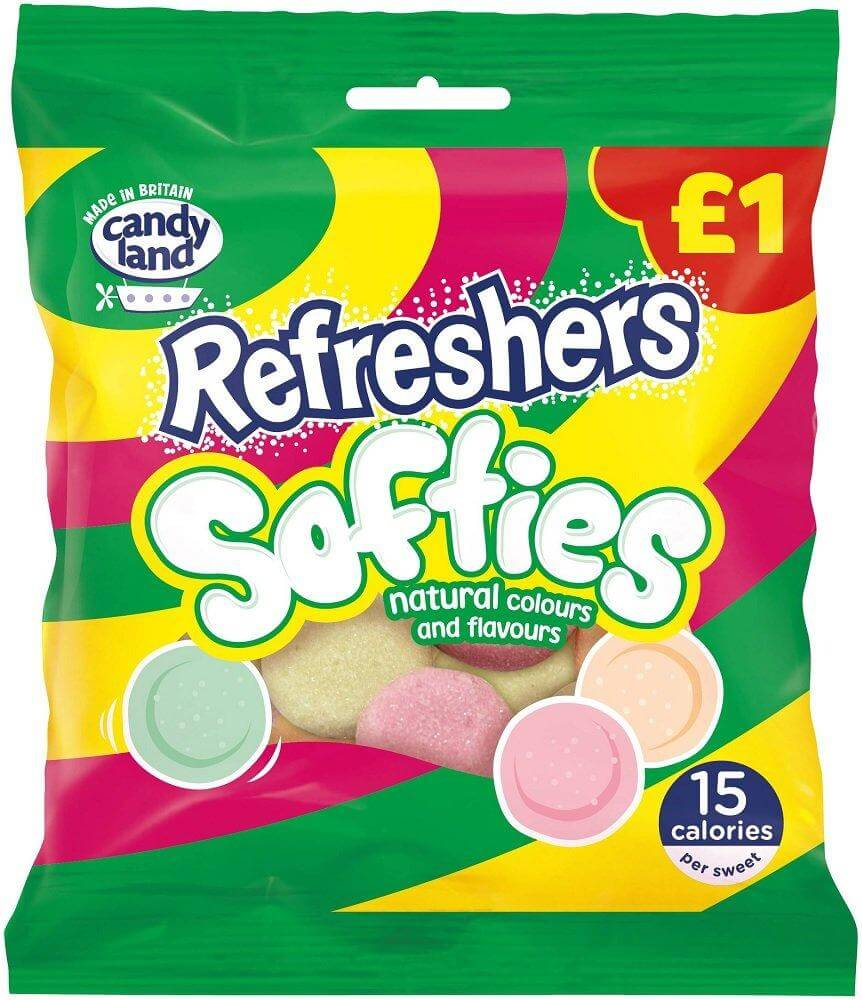 Barratt (Candyland) Refreshers Softies 120g