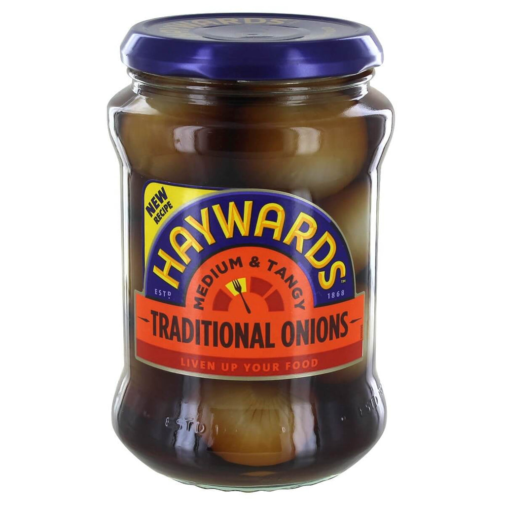 Haywards Medium and Tangy Traditional Onions 400g