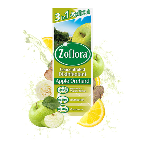 Zoflora Concentrated Disinfectant - Fresh Apple Fragrance 250ml