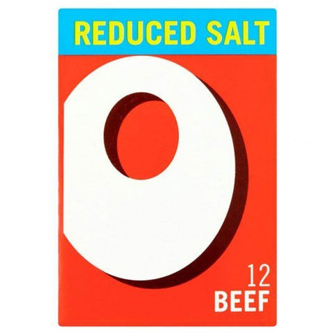 Oxo Reduced Salt Beef Cubes (Item Contains 12 Cubes) (LIMIT 1 PER ORDER) 71g