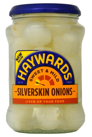Haywards Sweet and Mild Silverskin Onions 400g