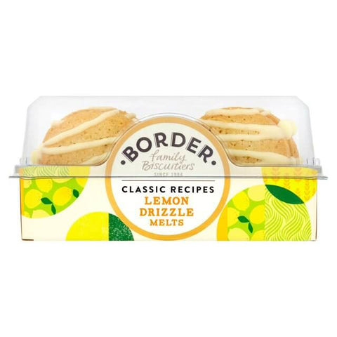 Border Lemon Drizzle Melts 150g