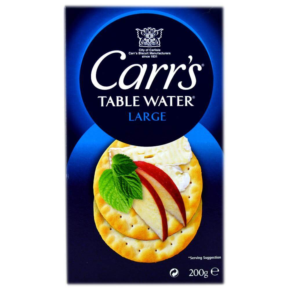 Carrs Biscuits - Water Biscuits Large 200g