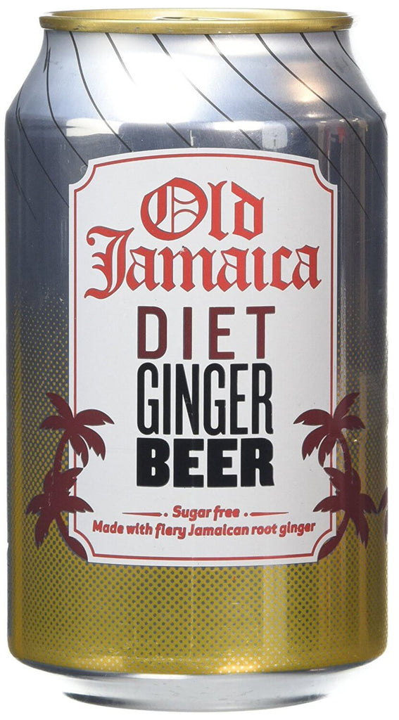 Old Jamaica Ginger Beer- Light with Fiery Jamaican Root Ginger 330ml
