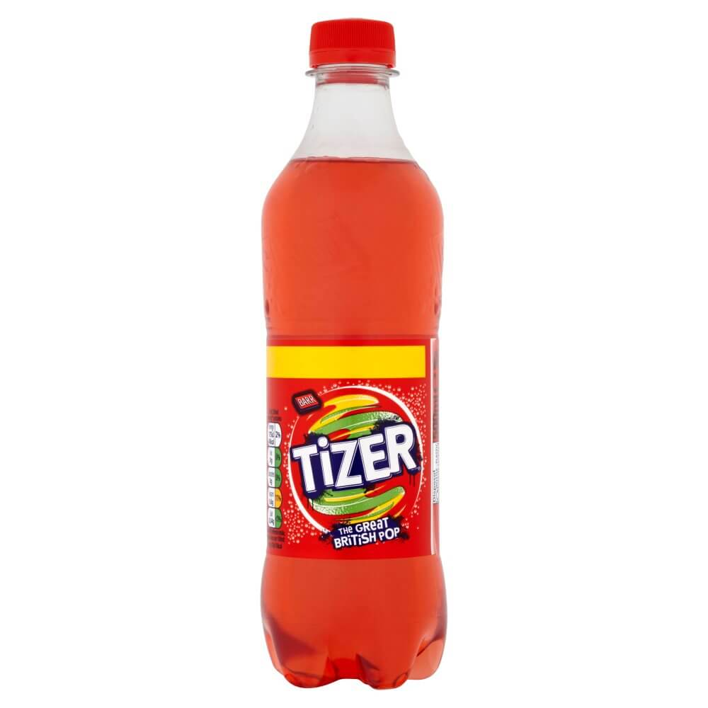 Barrs Tizer. The Great British Pop DATED 500ml