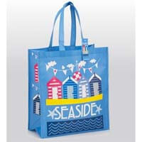British Brands Shopping Bag - Seaside Scene Non Woven Bag 84g