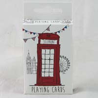 British Brands Playing Cards - Sketchy London Design 79g