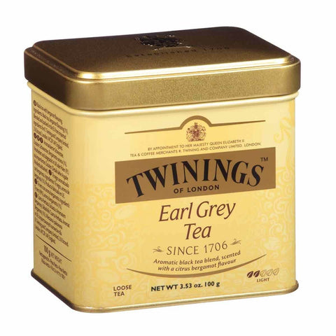 Twinings of London Tea - Earl Grey Loose Leaf Tin 100g