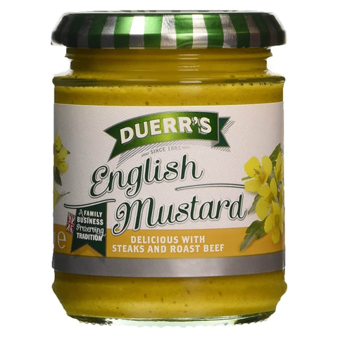 Duerrs English Mustard 185g