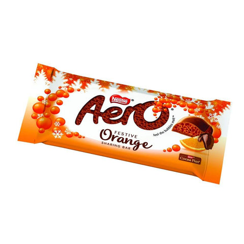 Nestle Aero Orange Large Bar 100g