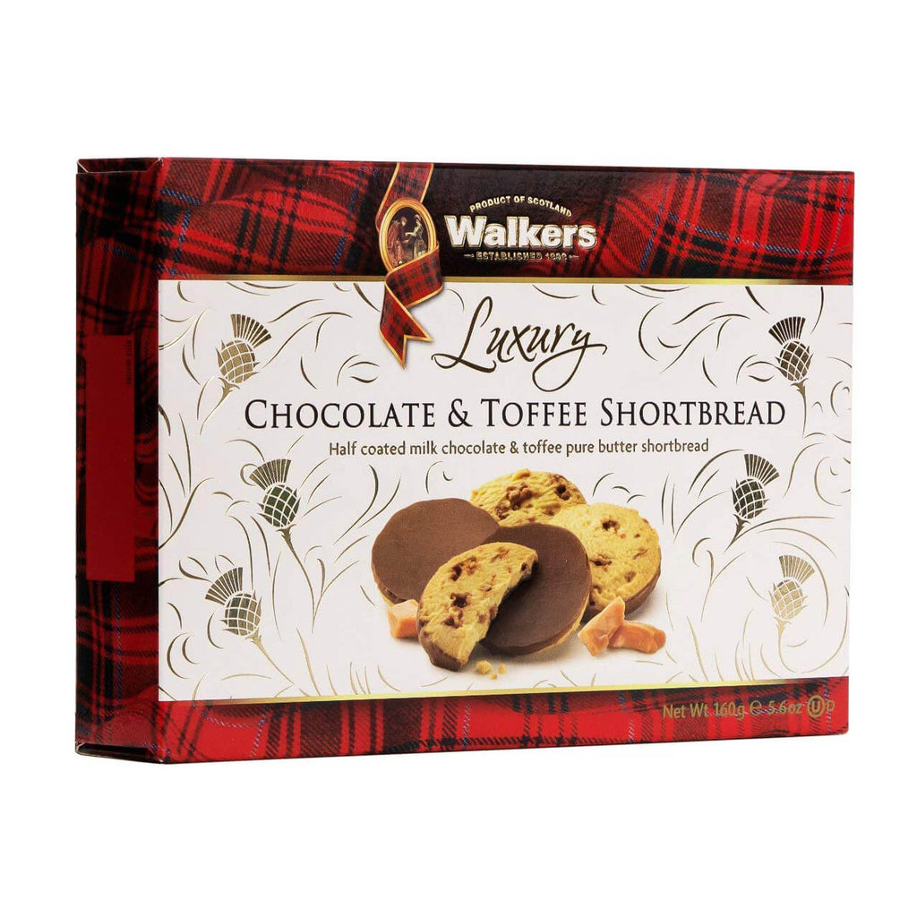 Walkers Shortbread - Toffee Royals with Luxury Milk Chocolate 160g
