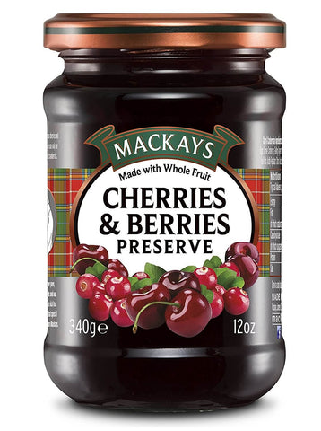 Mackays Preserve - Cherries and Berries  340g