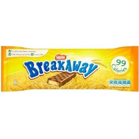 Nestle Breakaway Biscuits (Pack of 8) 152.8g