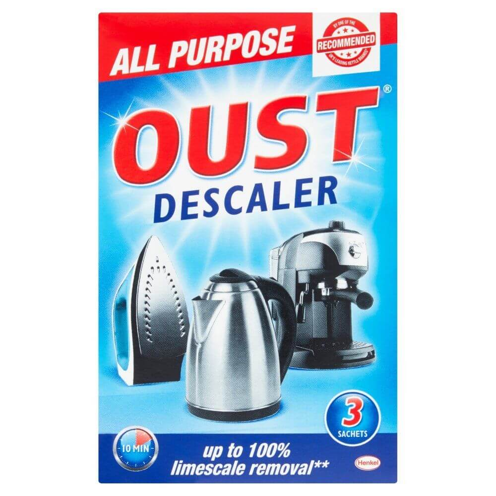 Oust All Purpose Descaler (Pack of 3) 75g