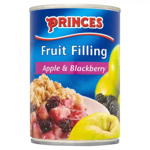 Princes Apple and Blackberry Fruit Filling 395g