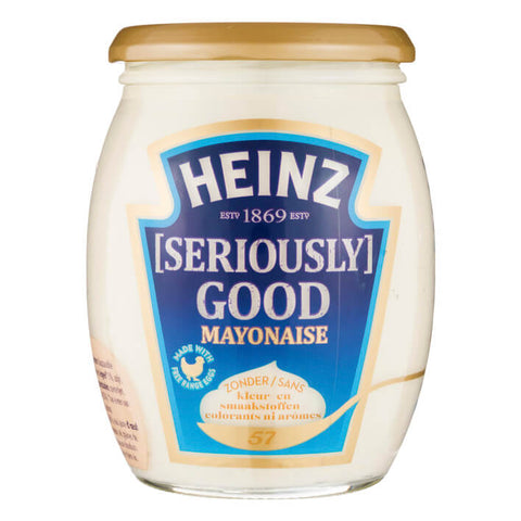 Heinz Mayonnaise - Seriously Good Mayonnaise Jar 460g