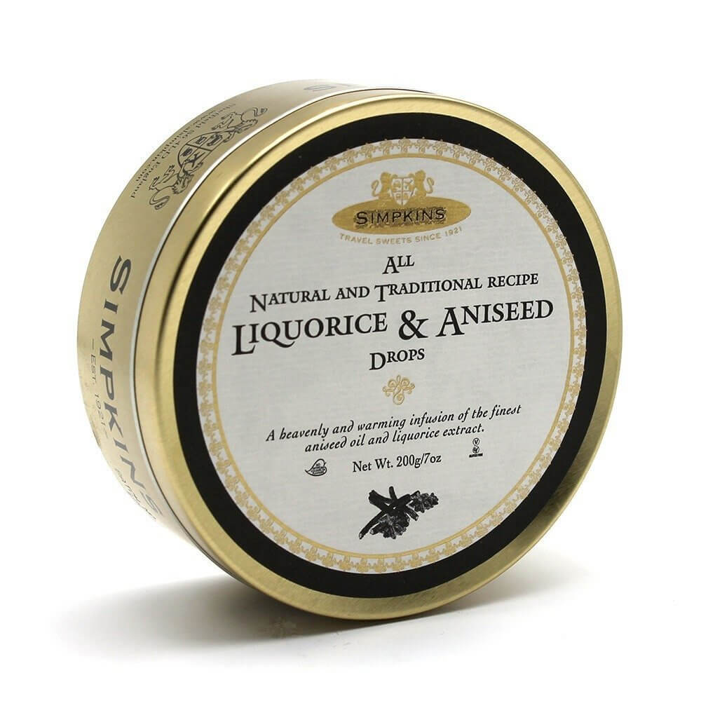 Simpkins Sweets - Liquorice and Aniseed  200g