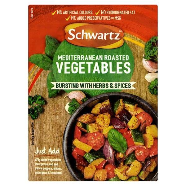 Schwartz Mediterranean Roasted Vegetable Mix 30g