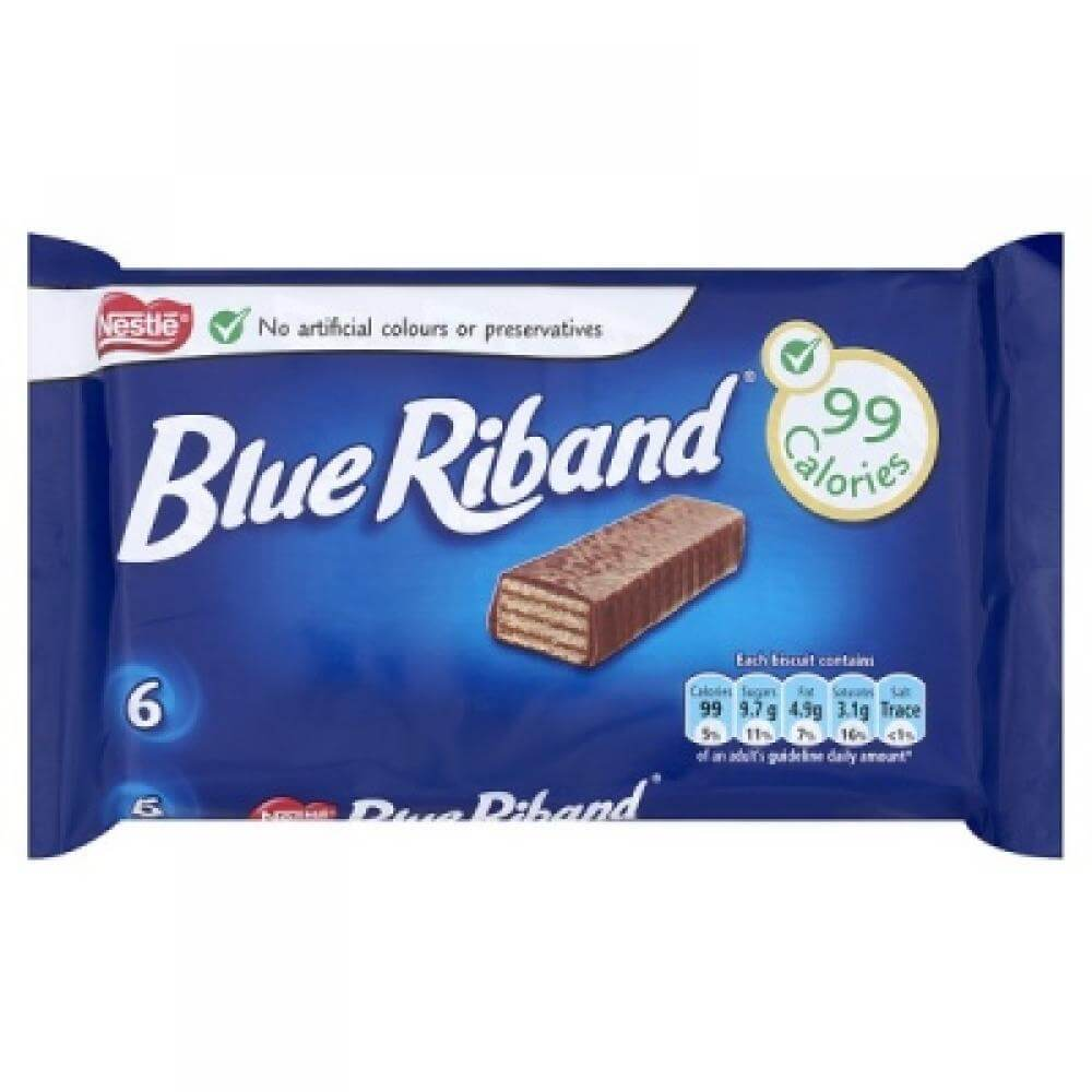 Nestle Blue Riband Biscuits (Pack of 6) 108g