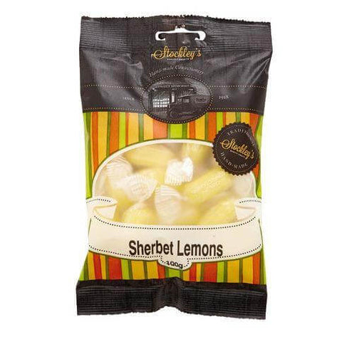 Stockleys Sweets - Sherbet Lemons 100g