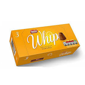 Nestle Walnut Whip Caramel (Pack of 3) 83.4g