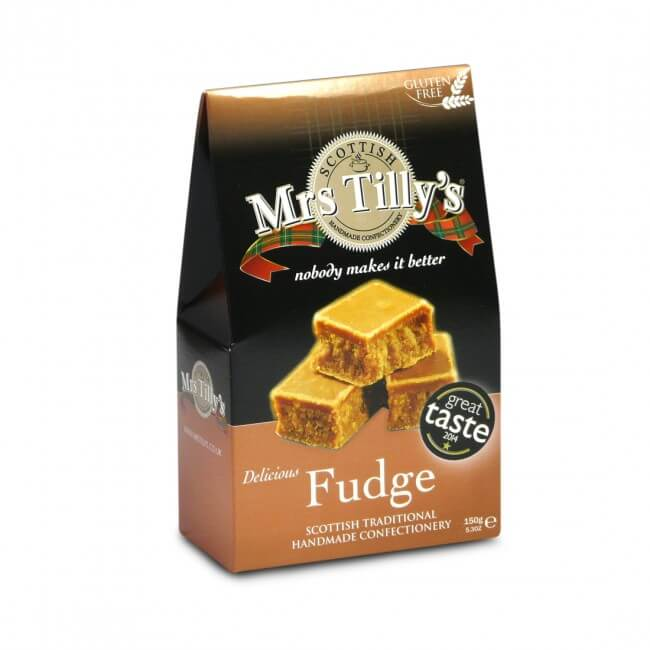 Mrs. Tillys Scottish Fudge Carton 150g