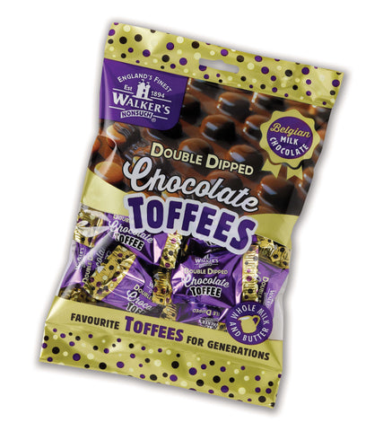 Walkers Nonsuch Double Dipped Chocolate Toffee 135g