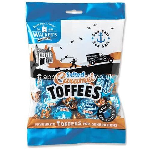 Walkers Toffee - Salted Caramel Toffee Bag 150g