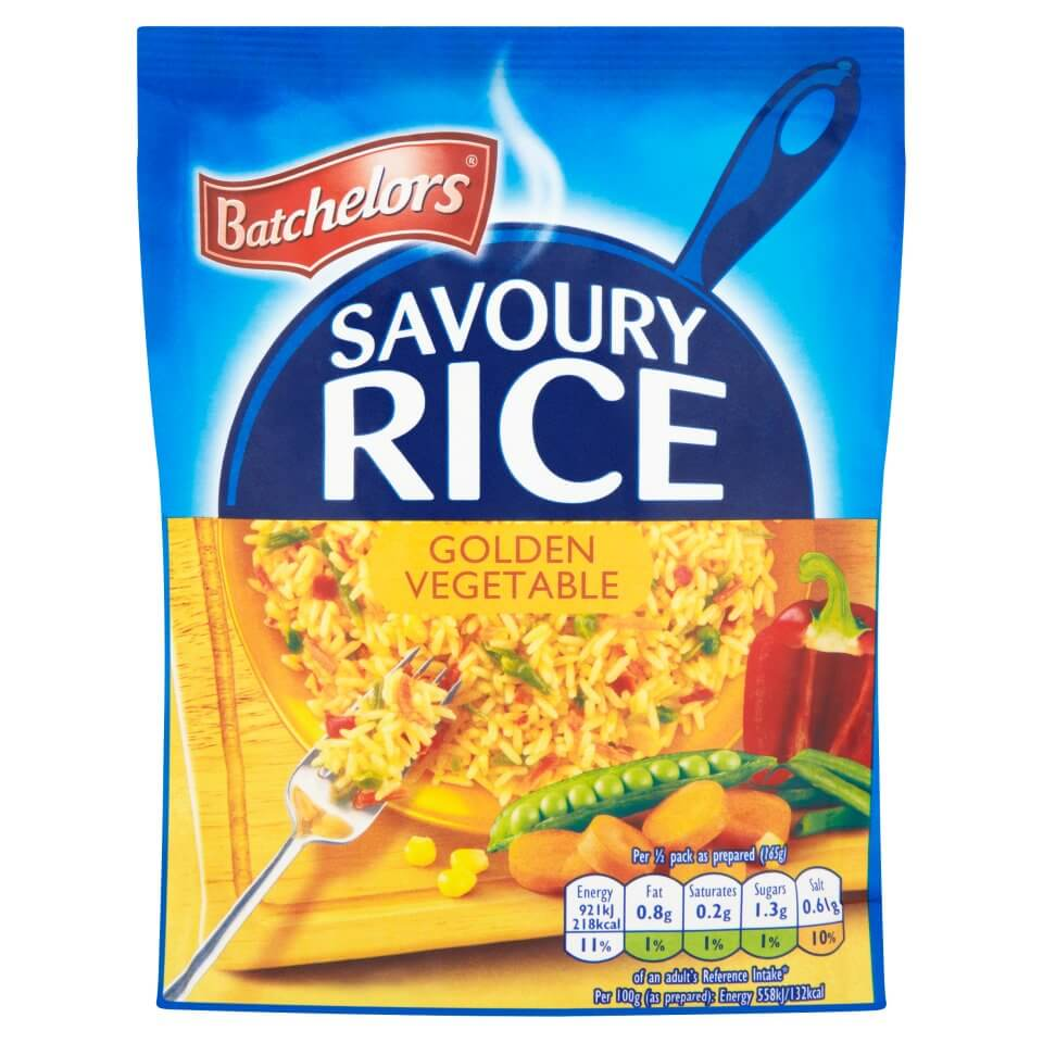 Batchelors Rice - Golden Vegetables Flavour 100g