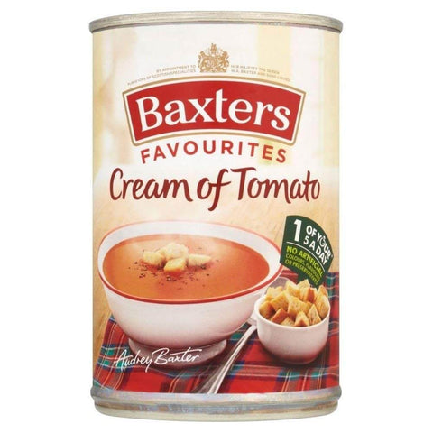 Baxters Favorites Cream of Tomato Soup 400g