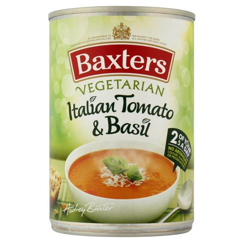 Baxters Soup - Vegetarian Italian Tomato and Basil  400g