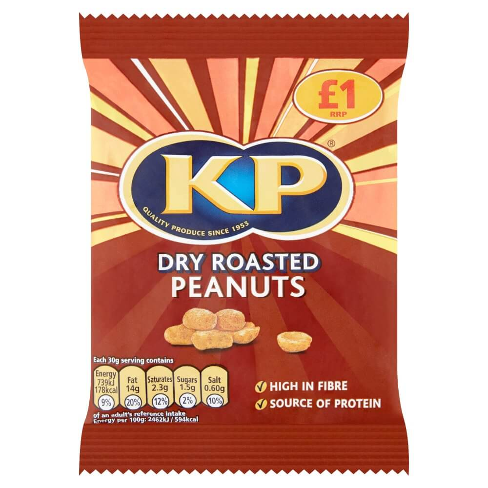KP Peanuts - Dry Roasted 65g