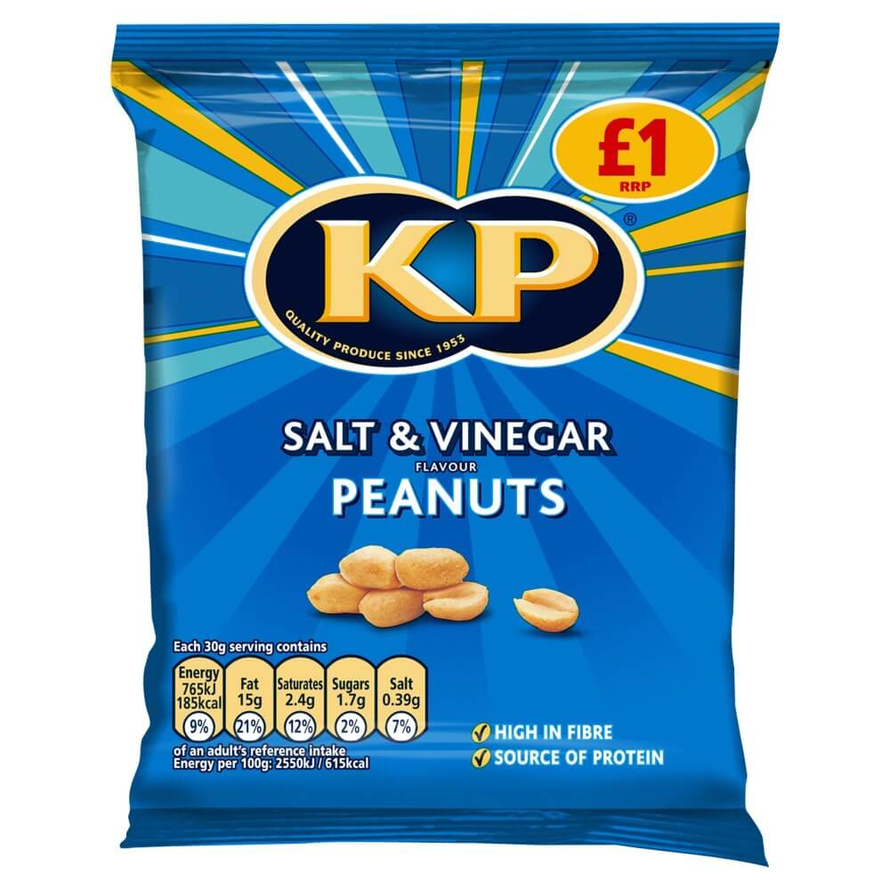 KP Peanuts - Salt and Vinegar Flavor  65g