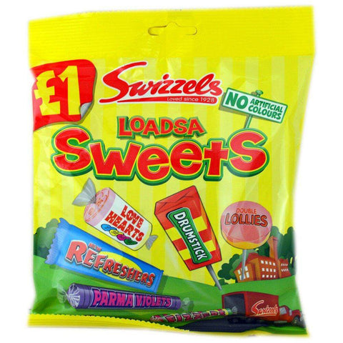 Swizzels Matlow Loadsa Sweets Bag 135g