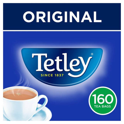 Tetley Tea Bags (Pack of 160) 500g