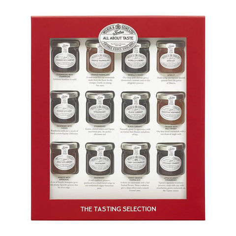 Wilkin and Sons Tiptree Tasting Selection Gift Box (Pack of 12) 504g