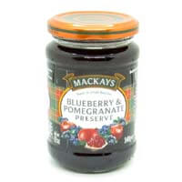 Mackays Preserve - Blueberry and Pomegrante  340g