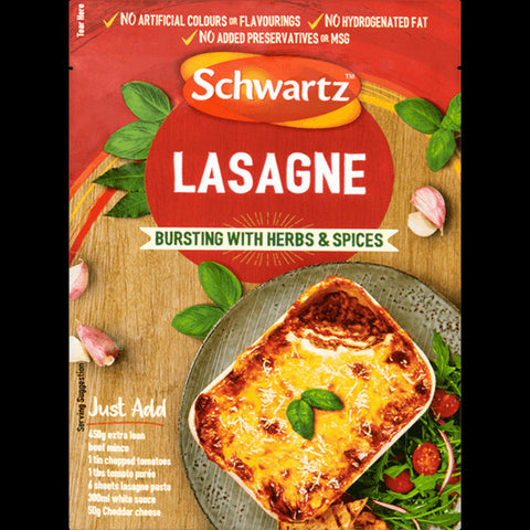 Schwartz Authentic Lasagna Mix 36g