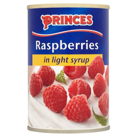 Princes Raspberries in Light Syrup 300g