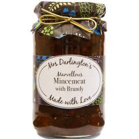 Mrs Darlingtons Mincemeat with Brandy 410g