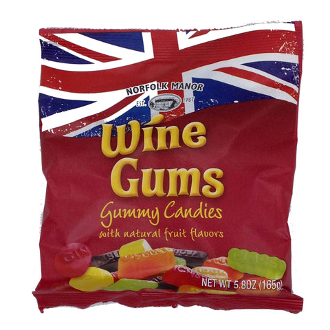 Norfolk Manor Wine Gums Bag 165g