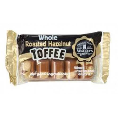 Walkers Nonsuch Roasted Hazelnut Toffee Bar 100g